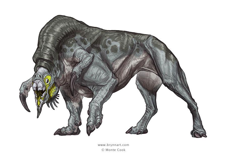 Terredel Creature Concept, Brynn Metheney on ArtStation at https://www.artstation.com/artwork/gPAox