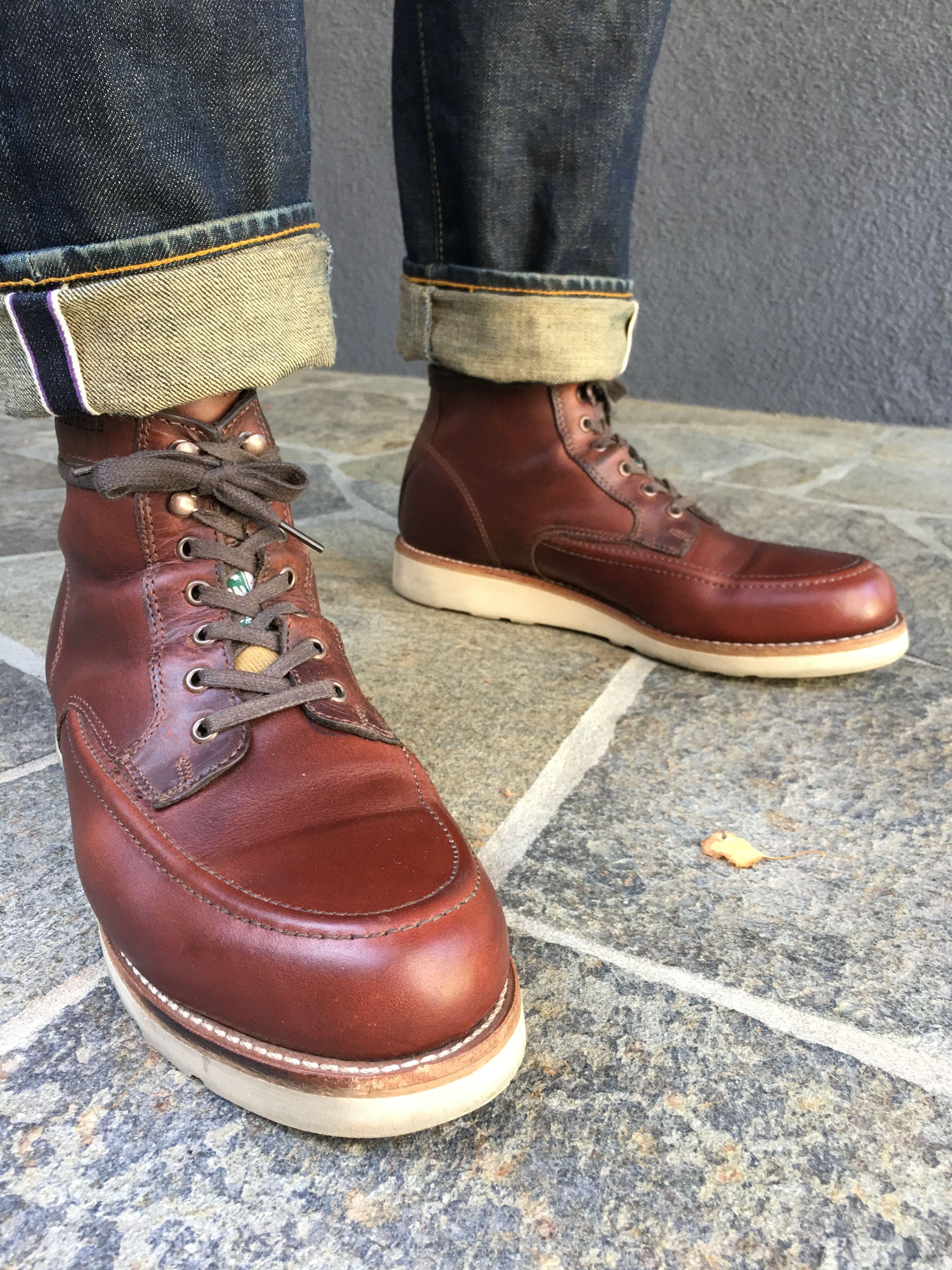 144c97896e9 prps jeans wolverine 1000 mile emerson | FASHION | Boots, Mens lace ...