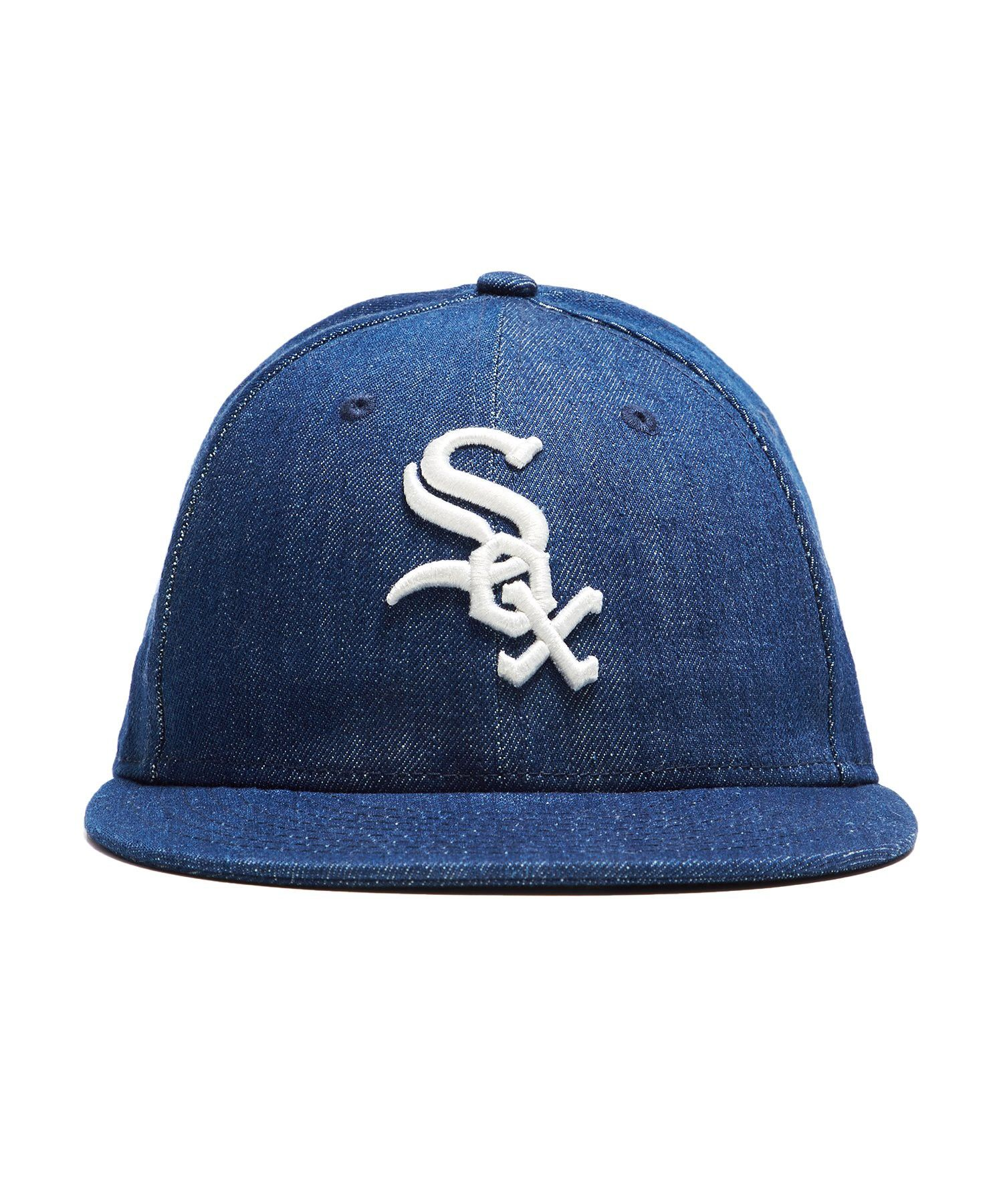 fd1457f9b1b Todd Snyder + New Era Mlb Chicago White Sox Cap In Cone Denim - 7 5 8