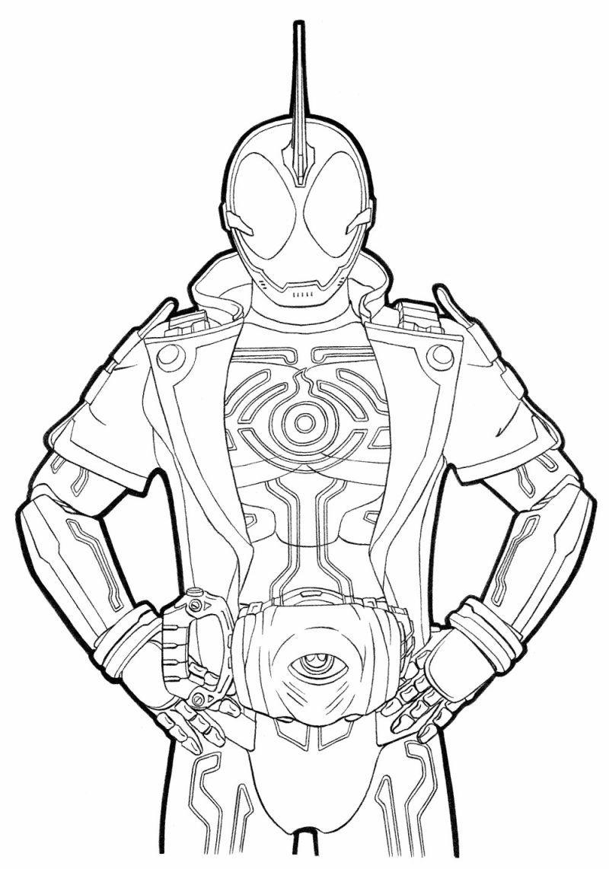 仮面ライダーゴーストスペクターネクロムぬりえ ミツキmaウス