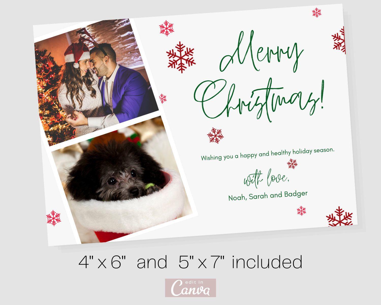 Christmas Card 2020 Family Christmas Card Holiday Card For Family Editable Christmas Card Family Christmas Cards Christmas Card Template Family Christmas