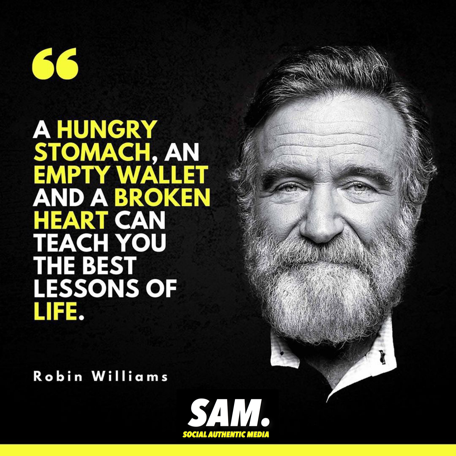 A Robin Williams quote that has been very relatable for me