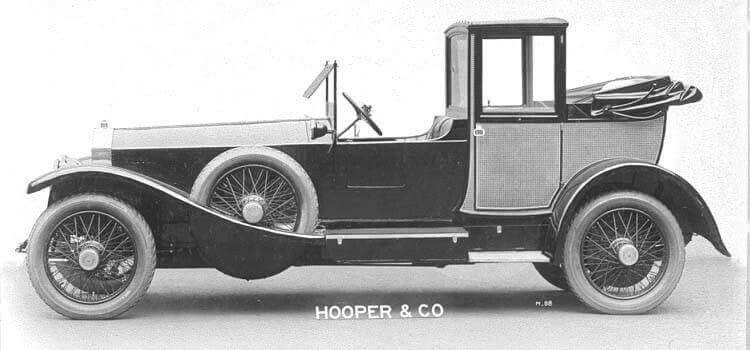 1919 Rolls Royce hooper body