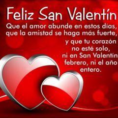 Imagen De Corazones Con Mensaje Para El Dia De San Valentin Deseos De San Valentín Mensajes De San Valentin San Valentin Para Amigas