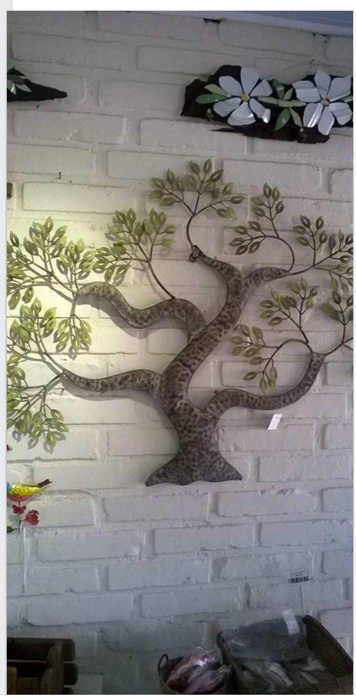 Enfeite parede, árvore