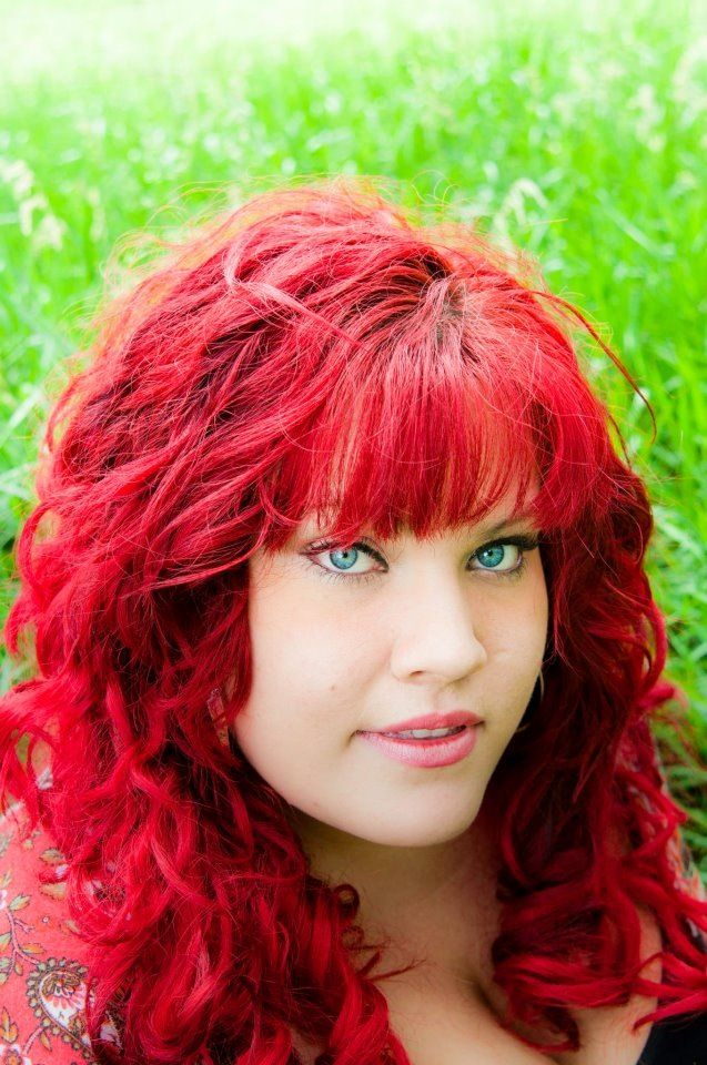 Bright Red Hair Done With Ice Cream Red Permanent Hair Dye Manic