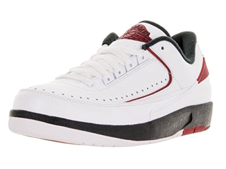 e9a59ca98a9 Nike Jordan Men's Air Jordan 2 Retro Low White/Varsity Red Black Basketball  Shoe 8 Men US - Brought to you by Avarsha.com