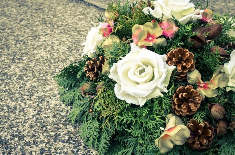 Kwiaty na grób