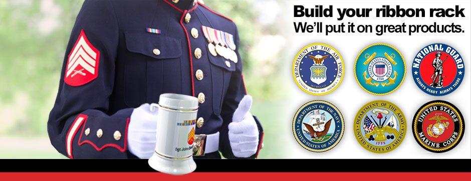 Rack Builder Custom Military Gifts Myservicepride Com