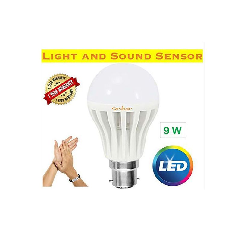 Ggled Sound Sensor Bulb 9w E27 6500k Daylight For High Pressure Sodium Lamps Hs Metal Halide Lamps Hi Smart Lights Light Sensor How To Make Light