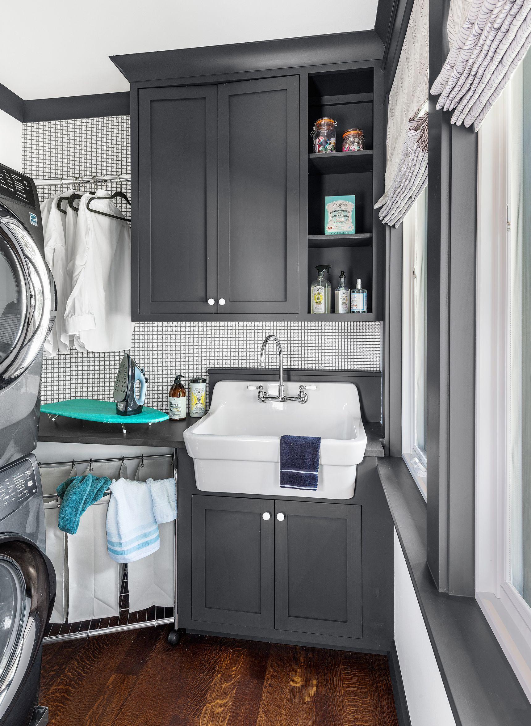 In Fine Detail 2018 Idea House Finale In 2020 Laundry Room Ideas Small Space Small Laundry Room Laundry Room Storage Shelves