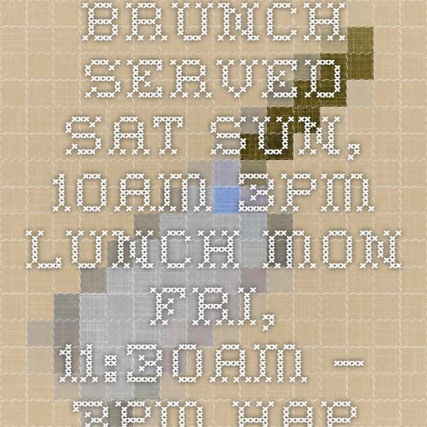 Clyde Common 1014 SW Stark St 503-228-3333 BRUNCH
