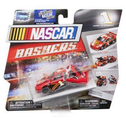 Nascar Bashers Full Blast Crash Car 1 Jamie Mcmurray Mcdonalds By Spin Master 12 59 Front Impact 1 Jamie Nascar Toys Play Vehicles Kids Power Wheels