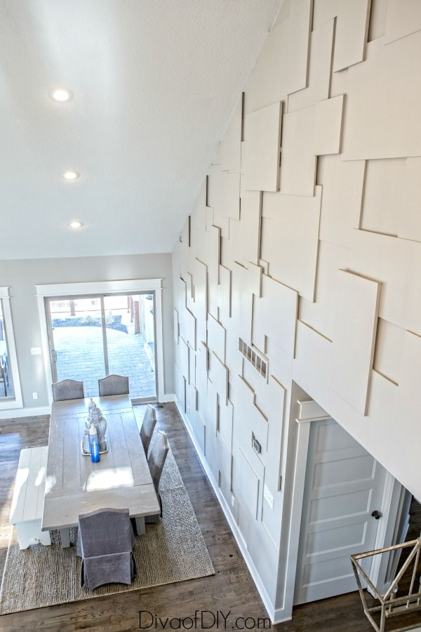 How To Create An Amazing Accent Wall Using Plywood Accent Walls