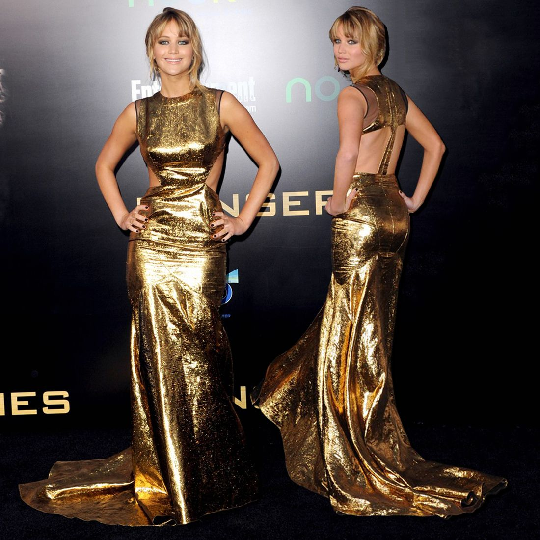 Chic Ways To Wear Golden; THE BEAUTY OF A GOLD DRESS | Gold evening ...