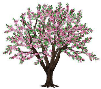 Clip Art Seasons Of An Apple Tree Apple Tree Drawing Tree Drawing Apple Tree