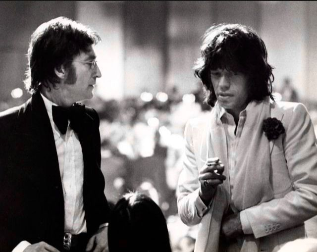 Jagger and Lennon