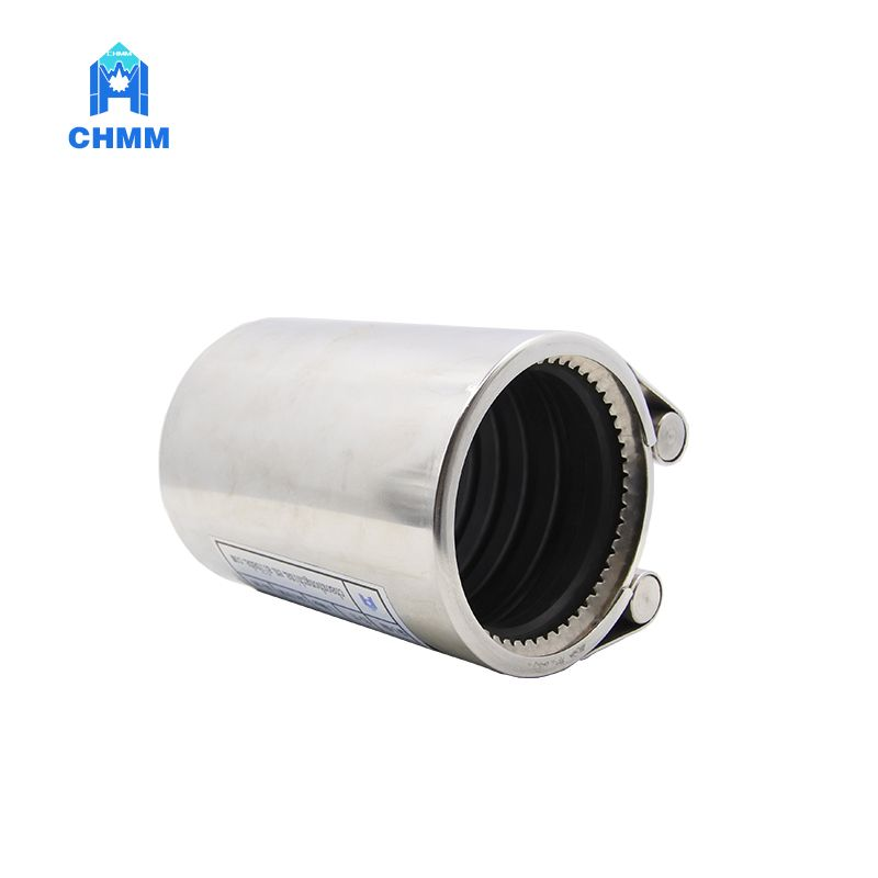 Pipe Repair Clamp With Tooth Ring Applied To Connection Of Various Kinds Of Metal Pipes Composite Materials Of Pipelines The Pipeline Connection Allowable An