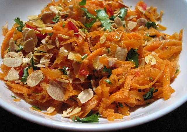 For Tomorrow S Barbecue Jamie Oliver S Carrot Salad From 30 Minute
