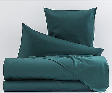 Camera Da Letto Verde Smeraldo : Completo copripiumino in raso di cotone smeraldo casa dolce