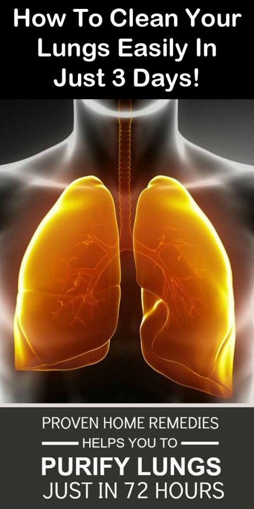 how to clear your lungs from smoking