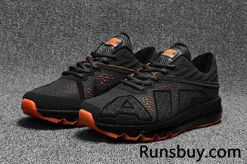 detailed look 5042c 61b05 Boom,,so cool,New Coming Nike Air Max 2017 9 Men Carbon Grey Orange offer