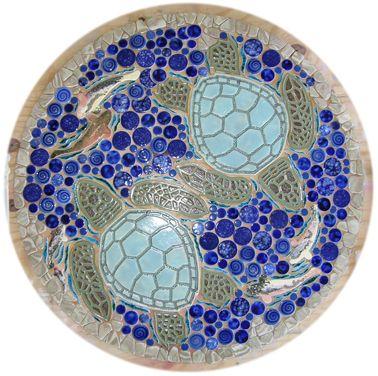 sea turtle ceramic tiles