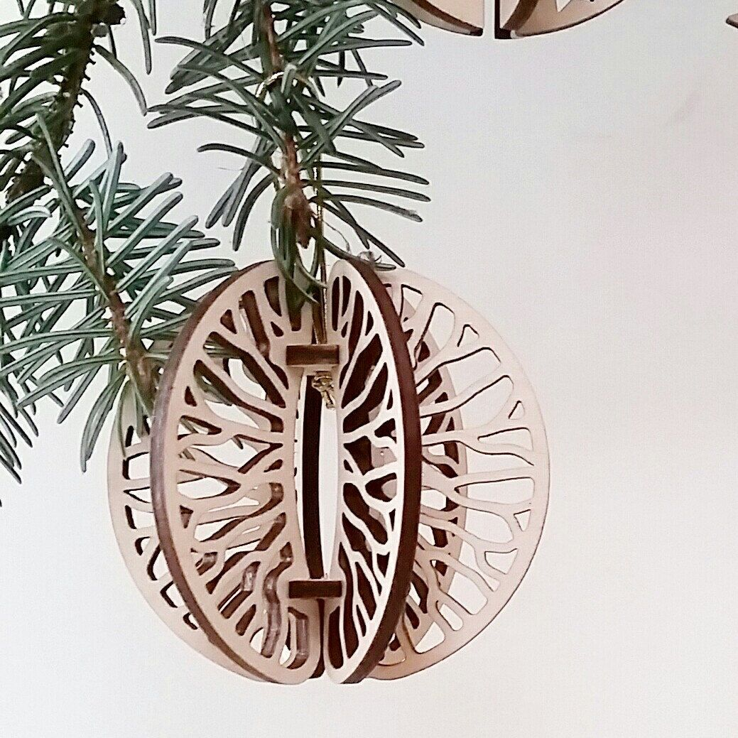 Christmas tree ornaments . Ready for Christmas ? How ... How ... How !!!