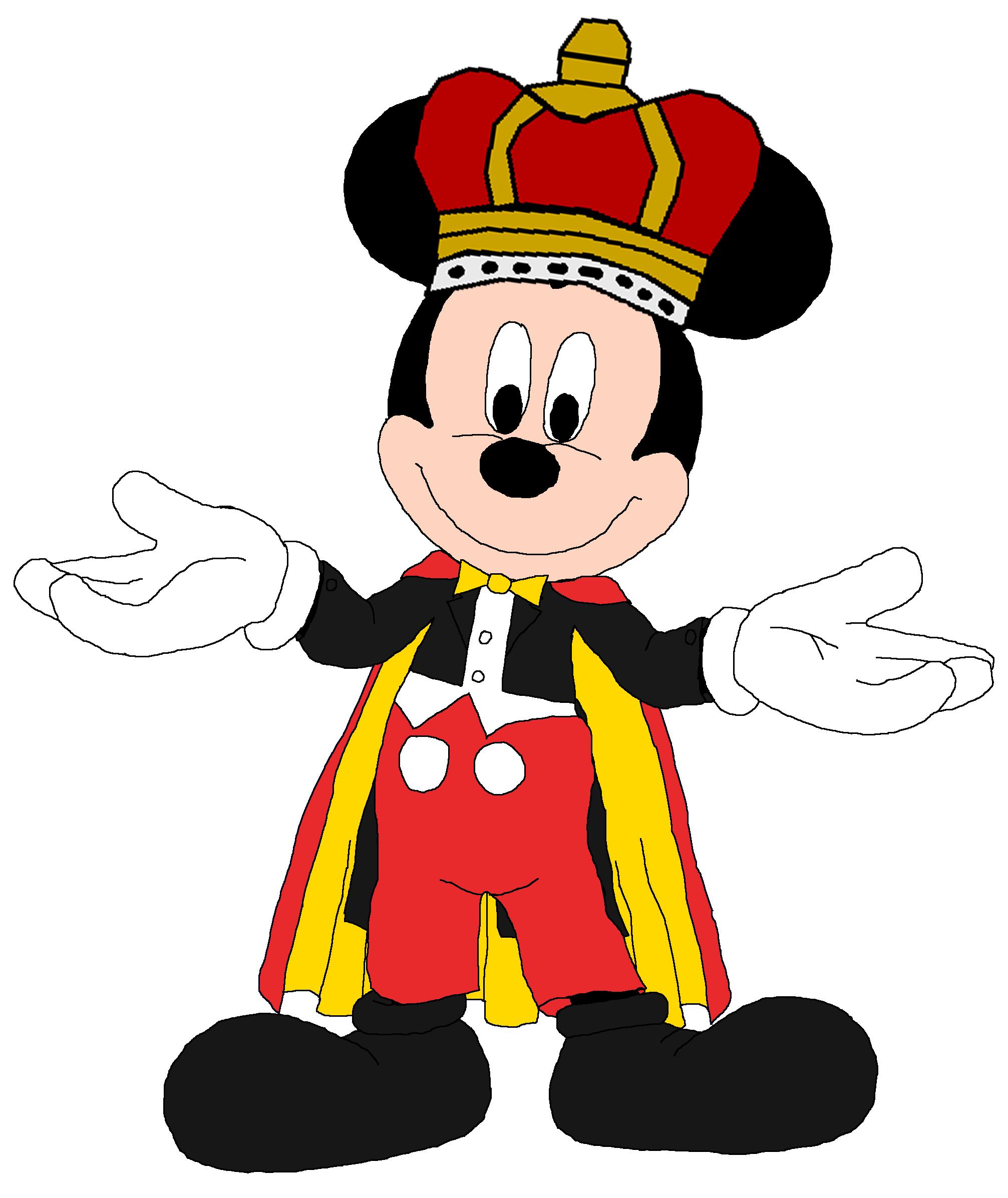 King Mickey Mouse Desenhos Infantis Mickey Desenhos