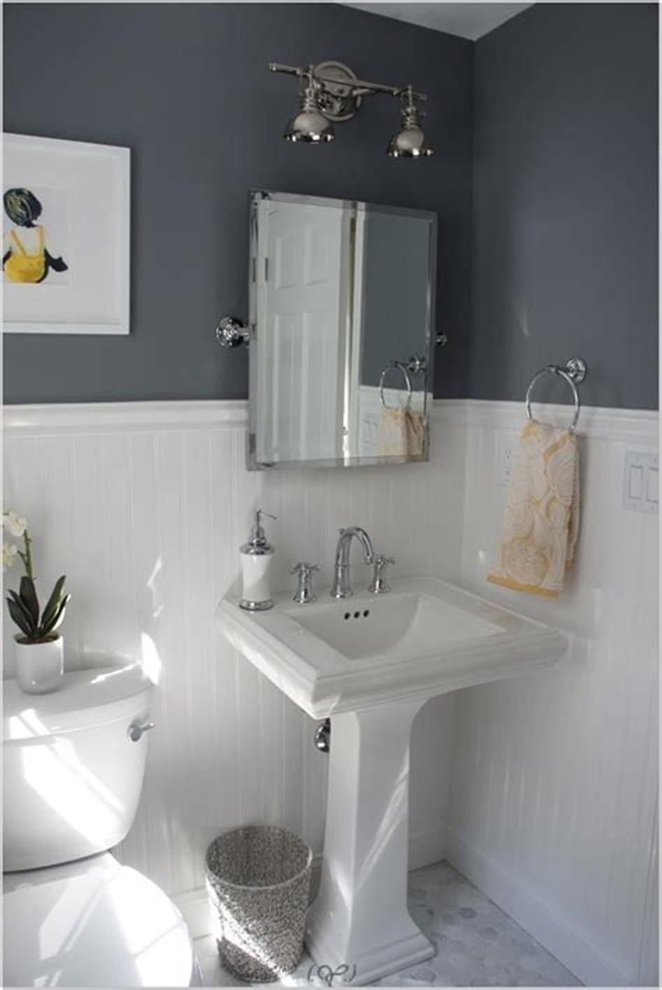40 Most Popular Half Bathroom Decor Ideas 2019 4 in 2020 ...