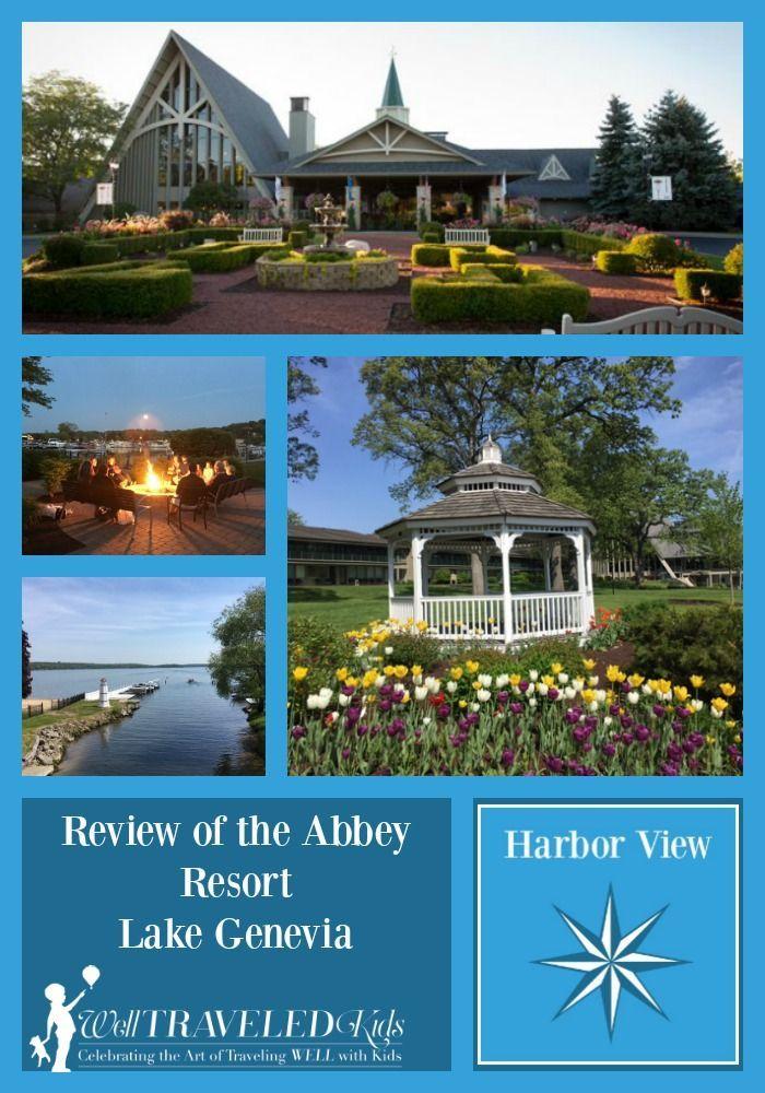 Family Road Trip  Abbey Resort Lake Geneva Wisconsin With