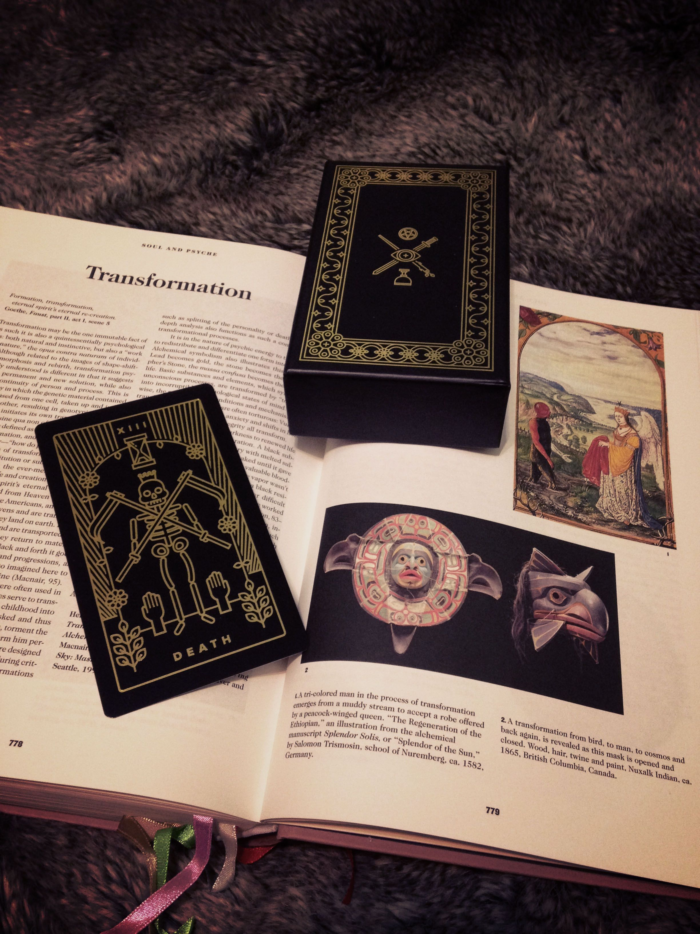 A beautiful reference book on #symbols throughout humanity, lavishly printed with illustrations throughout, and wonderfully designed. #taschen is just a great publisher when it comes to these things. There are several sections - Creation & Cosmos, Plant World, Animal World, Human World and Spirit World. And of course, there's so many symbols here that have been used in the tarot.