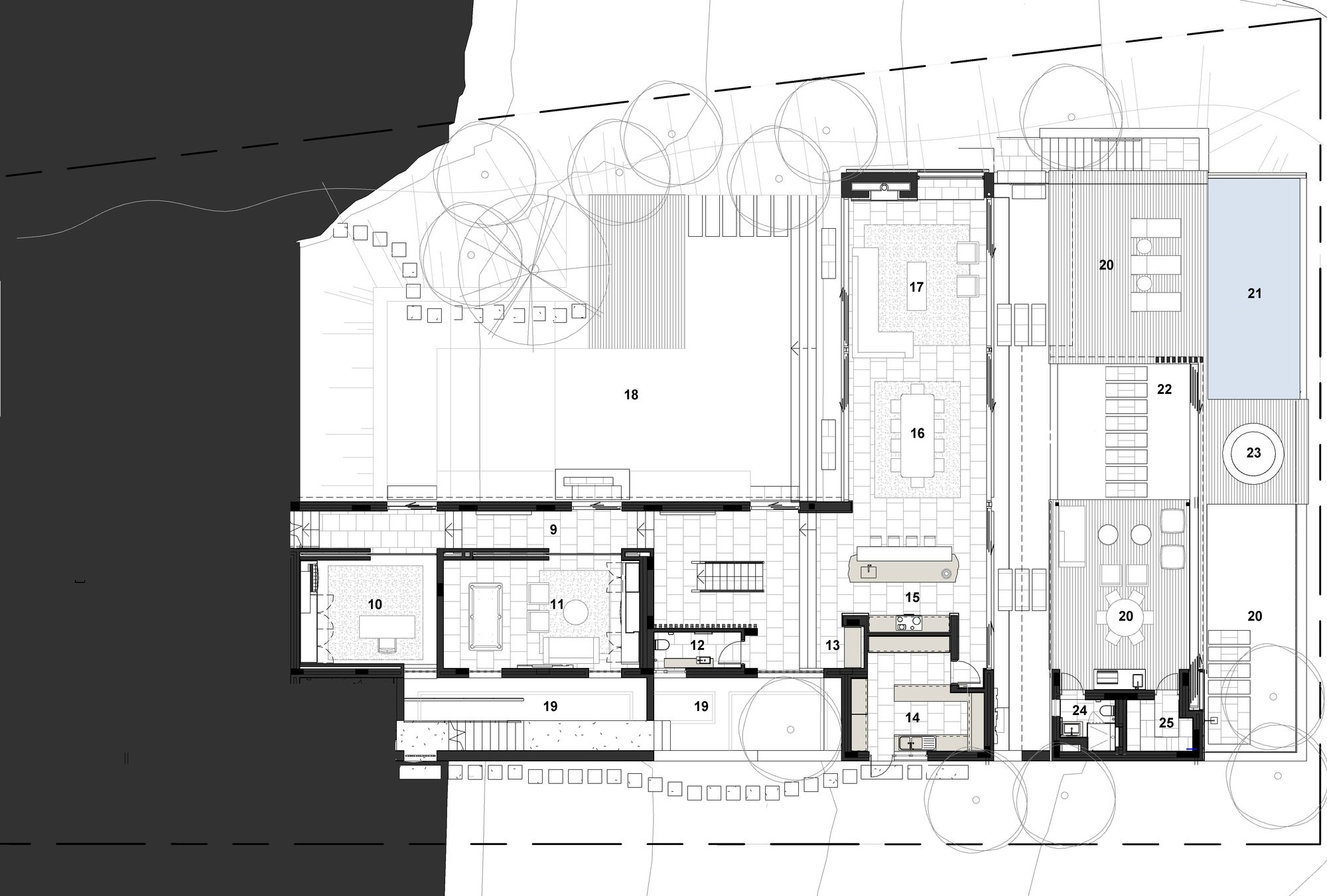 Gallery Of Benguela Cove Saota 21 South African Homes Floor Plans Architecture Plan