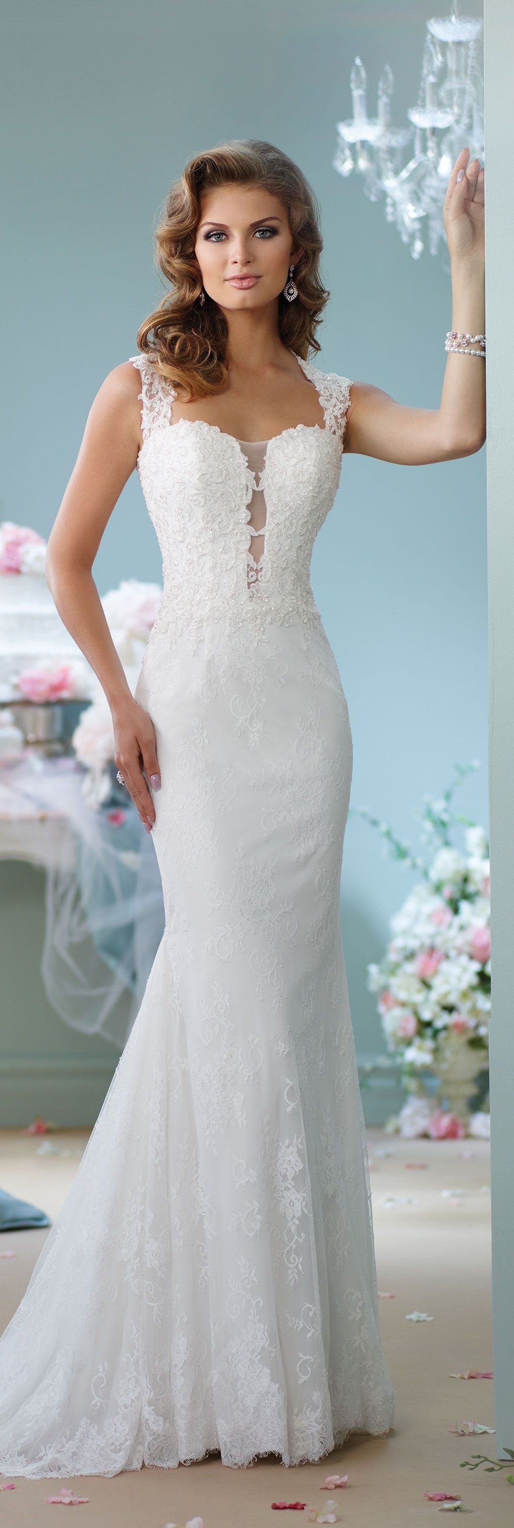 Modern wedding dresses by mon cheri enchanted spring and
