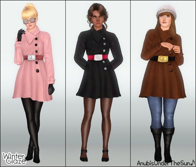 3bcb118e17af Glaze Coat Girl