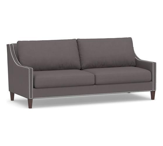 Pasadena Upholstered Sofa Upholstered Sofa Sofa Grey