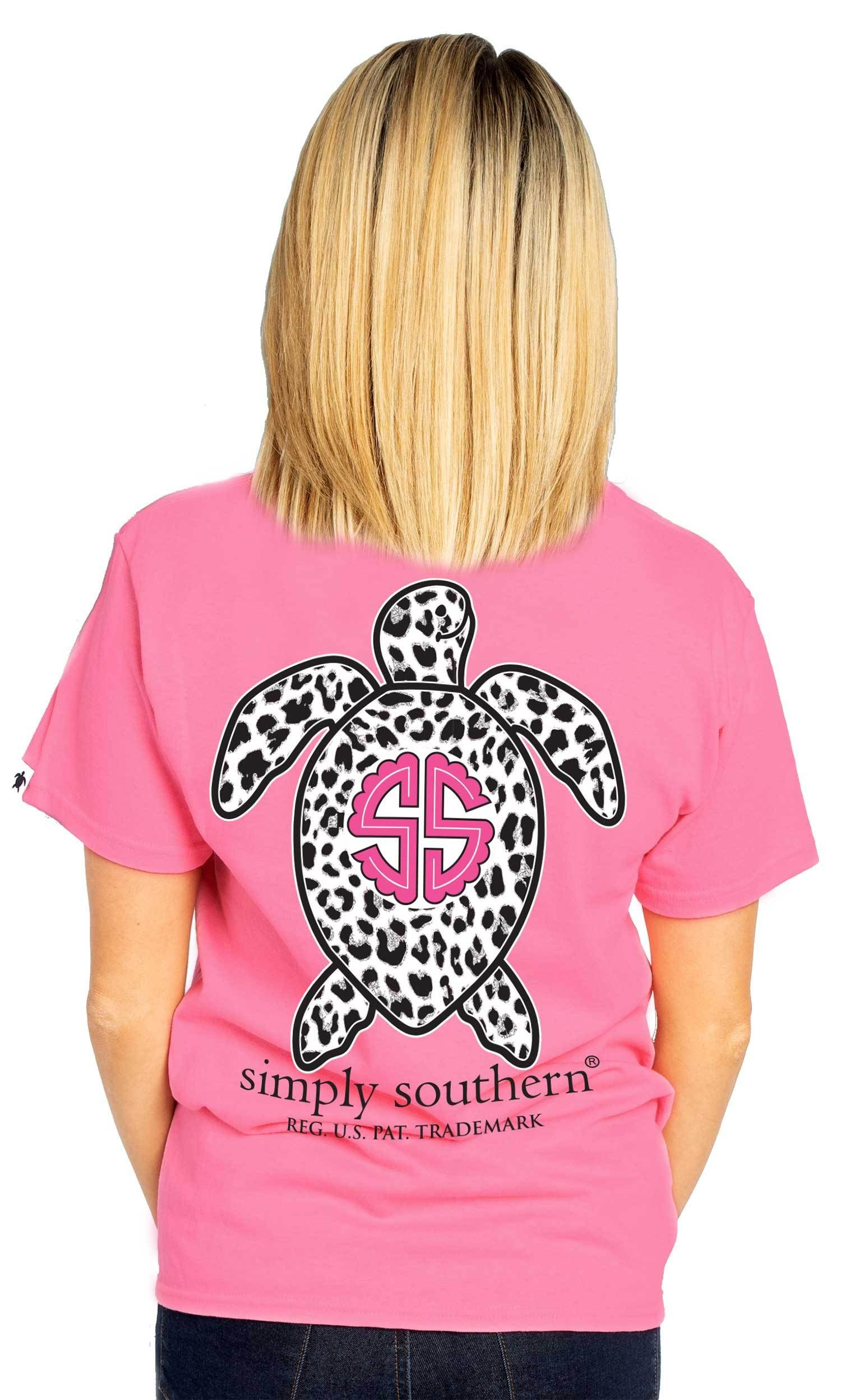 YOUTH Dream Tie Dye Save The Turtles Simply Southern Tee Shirt