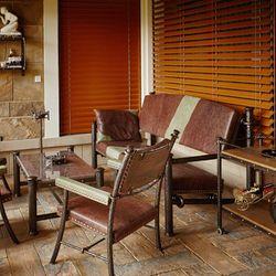 Meubles d\'extérieur, parfait pour une terrasse ou une véranda. Fer ...