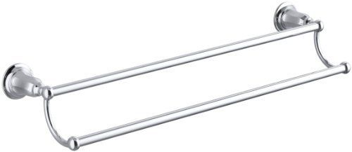 Kohler K 13503 Cp Kelston 24 Inch Double Towel Bar Polished Chrome