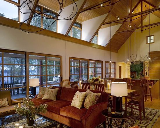 16 große Wohnzimmer Design und Dekor Ideen mit Samt Möbel   neuedekorationsideen   Rustikales ...