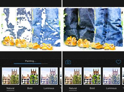a simple way to turn photos into water color art waterlogue-progression-2