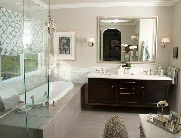 15 extraordinary transitional bathroom designs for any home - Transitional Bathroom Ideas