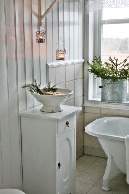VIBEKE DESIGN: Enkel jul på badet!