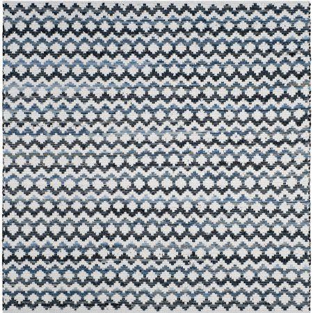 Safavieh Montauk Harding Woven Area Rug or Runner, Ivory Blue/Black