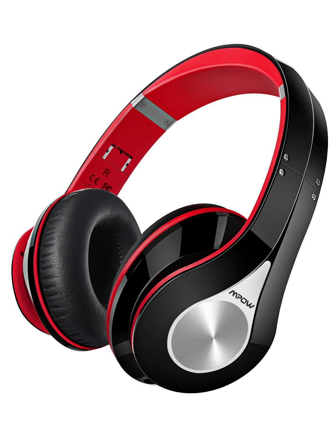 70fee4108301d1 Mpow 059 Bluetooth Headphones Over Ear, Hi-Fi Stereo Wireless Headset,  Foldable, Soft Memory-Protein Earmuffs, w/Built-in Mic and Wired Mode for  PC/Cell ...