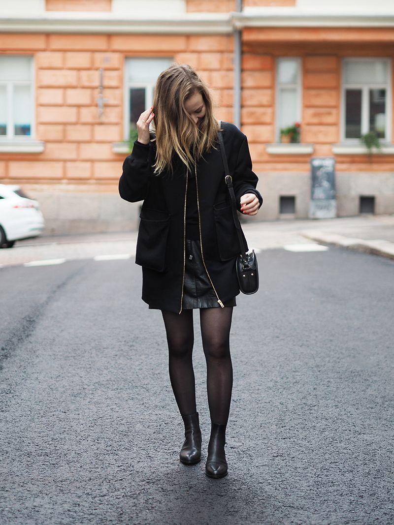 ida365 // all black