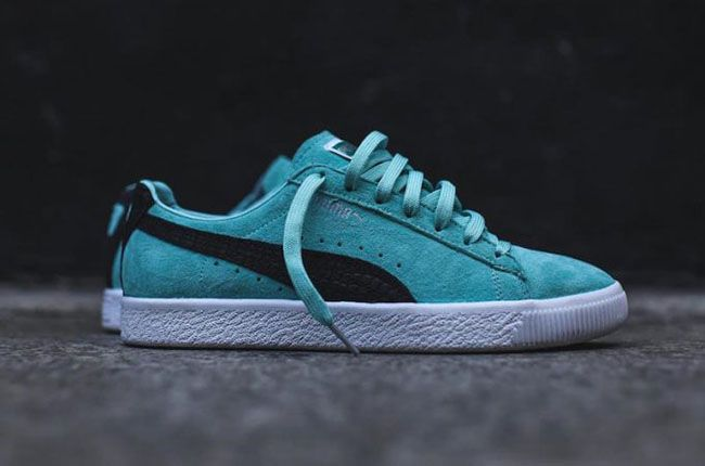 Diamond Supply Co. x Puma Clyde 'Tiffany Blue' Available Now