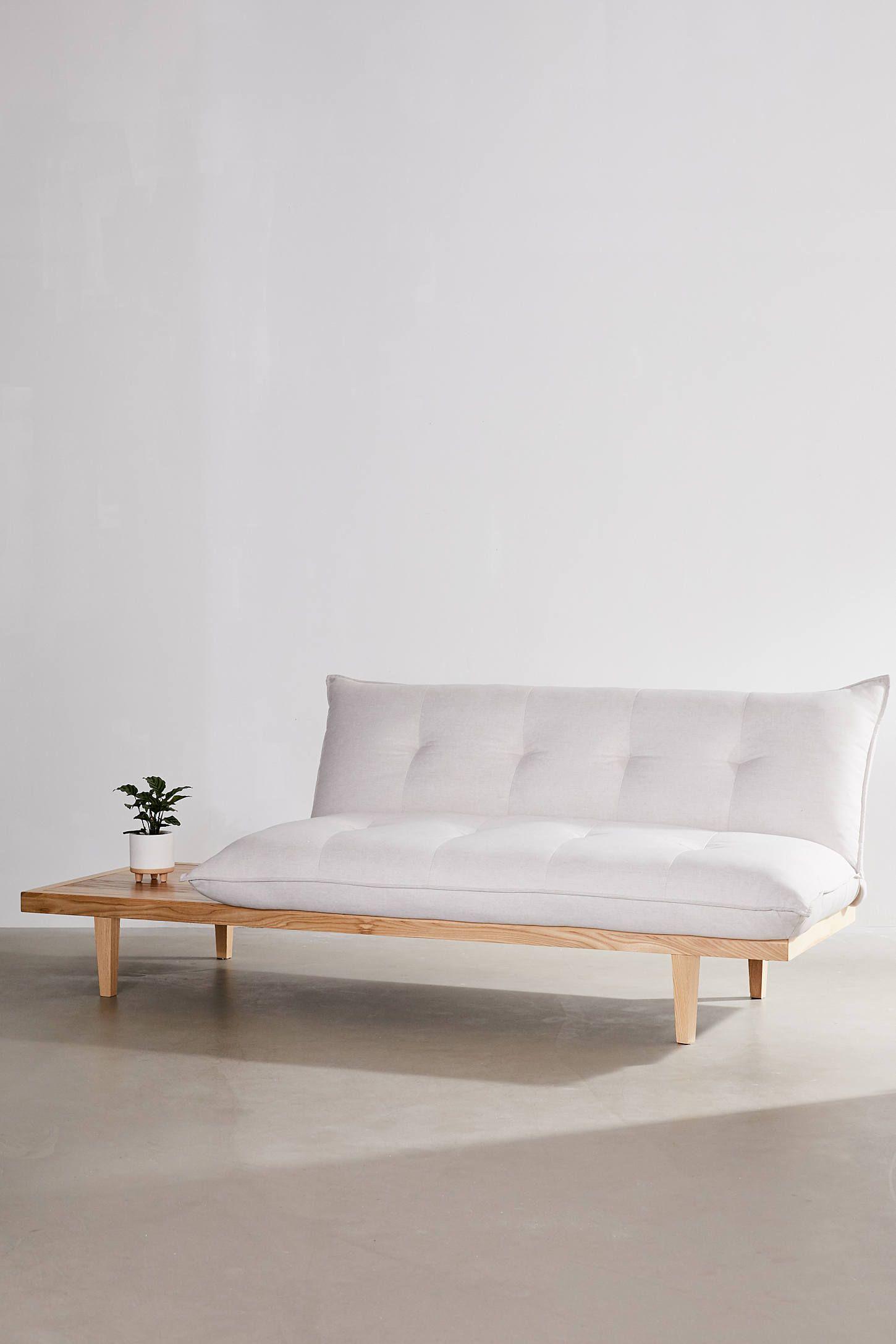 Reid Side Table Convertible Sofa in 2019 | Minimalist ...