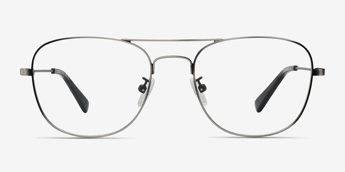 c6d20c2651c9 Courser Gunmetal Metal Eyeglasses from EyeBuyDirect. Discover exceptional  style, quality, and price. This frame is a great addition to any collection.