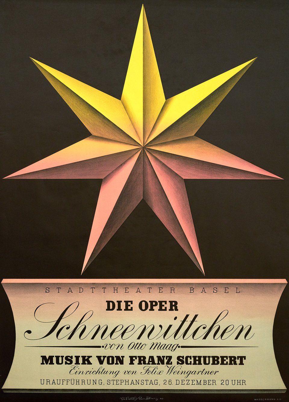 Die Oper Schneewittchen, Franz Schubert Niklaus STOECKLIN